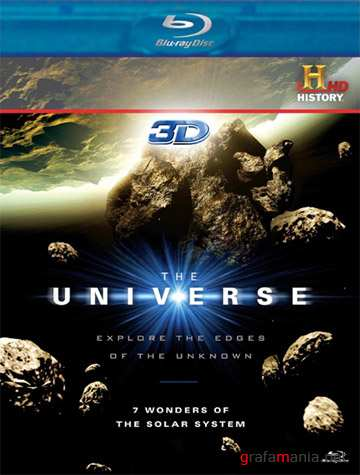 ���� ����� ��������� ������� 3D / Universe: 7 Wonders of the Solar System 3D (2010) Blu-ray/BDRip/72