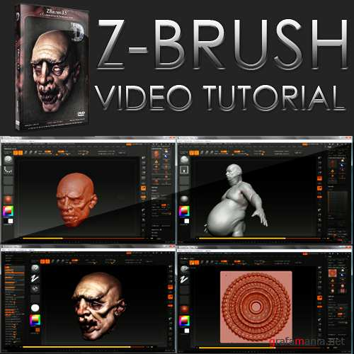 Eat3D - ZBrush 3.5  A Comprehensive Introduction