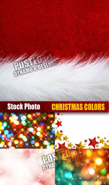 UHQ Stock Photo - Christmas Colors