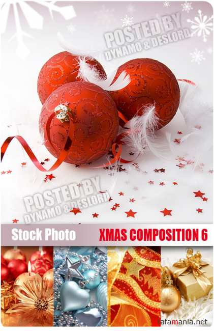 UHQ Stock Photo - Xmas Composition 6