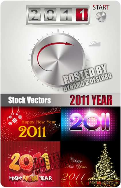 Stock Vectors - 2011 Year #2