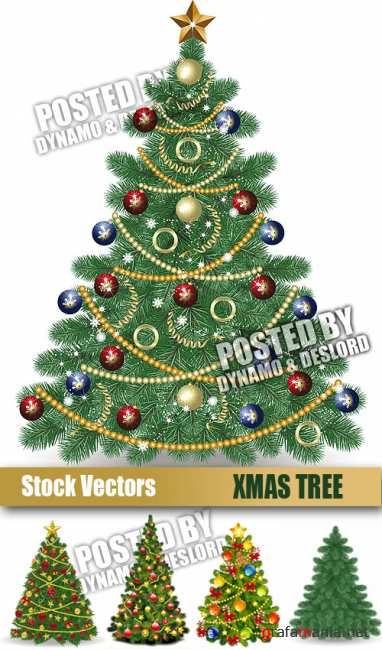 Stock Vectors - Xmas Tree