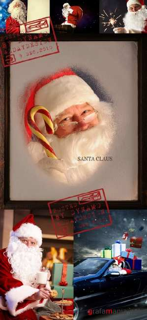 Stock Photo - Santa Claus