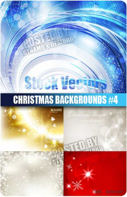 Stock Vectors - Christmas Backgrounds #4