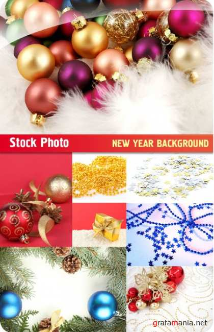 Stock Photo - New Year Background