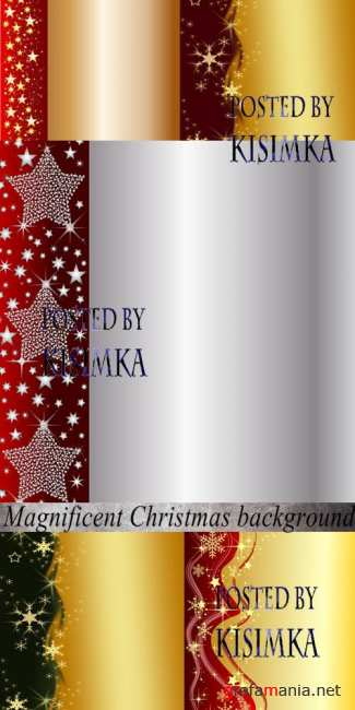 Stock Photo: Magnificent Christmas background
