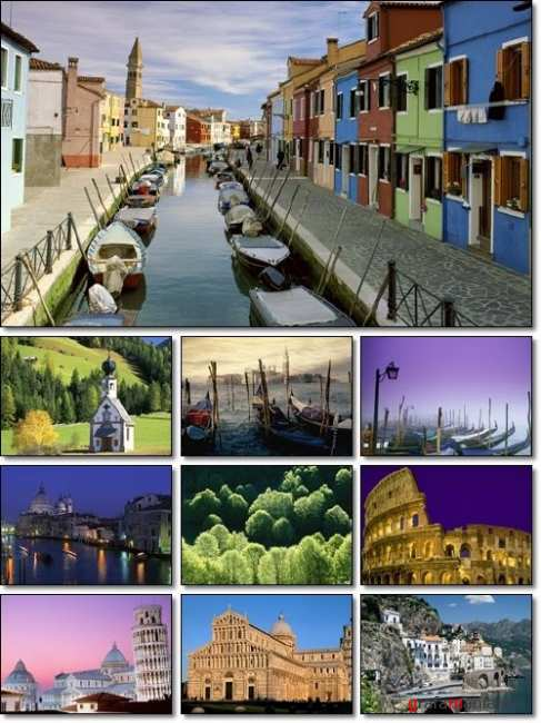 The Beautiful Landscapes of Italy Wallpapers