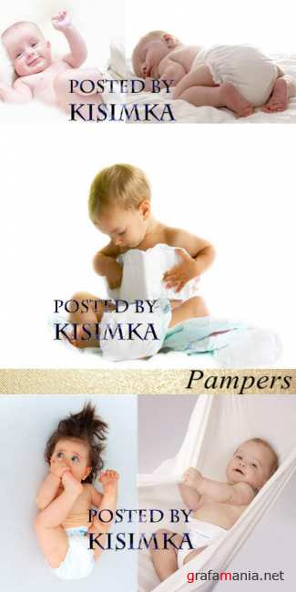Stock Photo: Pampers