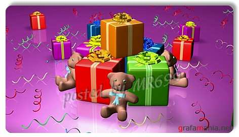 Baby footages: Bear gifts