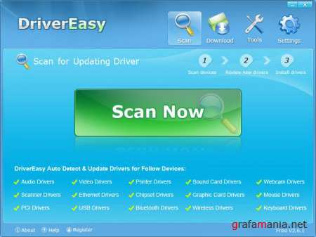DriverEasy Professional ver.3.1.1.40990 + Portable (2011)