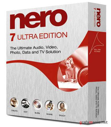 Nero 7 Ultra Edition Full Silent install (RUS/2011)