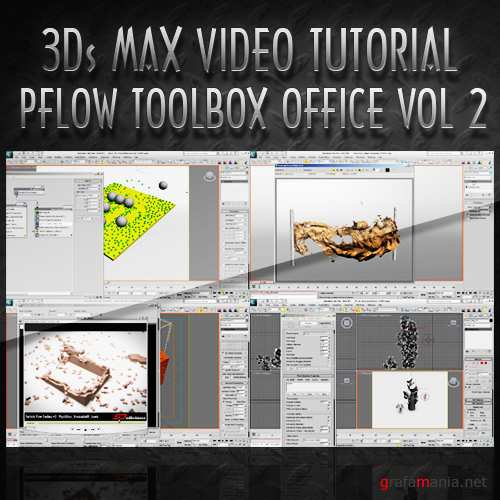 TurboSquid - PFlow Toolbox Office: Vol. 2 [2010 г.]