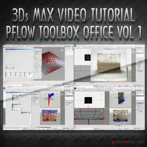TurboSquid - PFlow Toolbox Office: Vol. 1 [2010 г.]