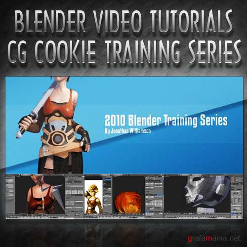 CG Cookie - 2010 Blender Training Series | full parts 1 & 2 | (2010, ENG)