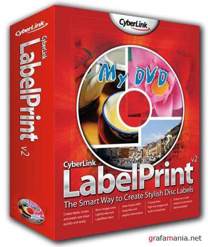 CyberLink LabelPrint ver.2.5.1916 Portable by Birungueta (2011)