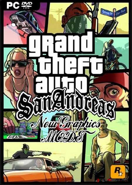 Grand Theft Auto: San Andreas - NEW Graphics Mode (2010/RUS)