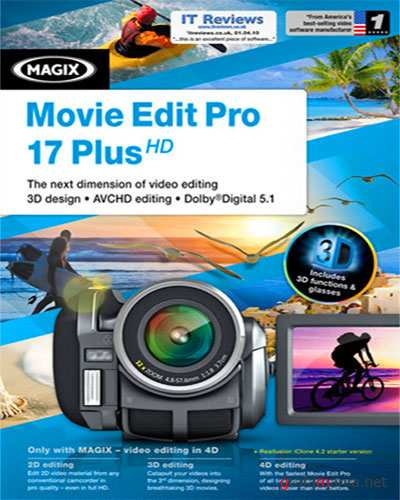MAGIX Movie Edit Pro 17 Plus HD ver.10.0.1.15 Download Version (2011/RUS)
