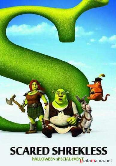 Напугать до бесШрекства / Шрек: Хэллоуин / Scared Shrekless (2010) HDTVRip
