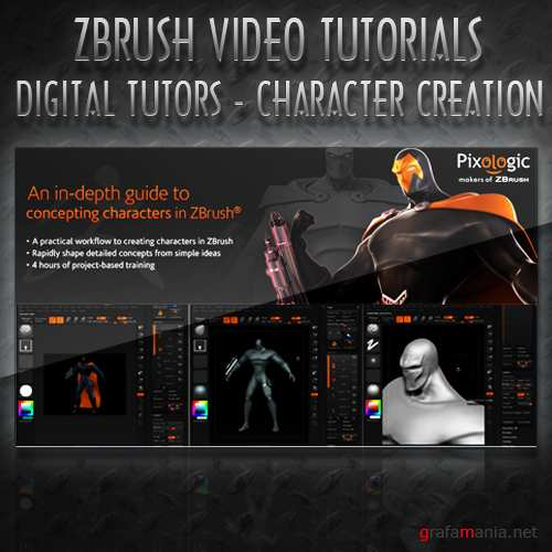 Digital Tutors - Character Creation in Zbrush