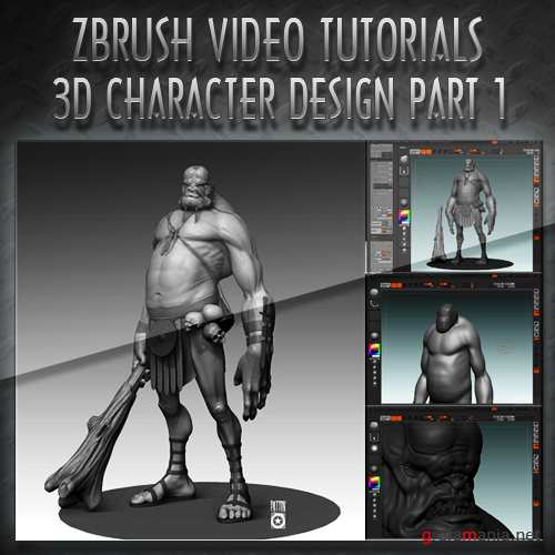 The Gnomon Workshop - 3D Character Design in Zbrush Volume 1