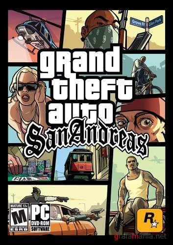 GTA San Andreas Original (2005/ENG/RIP Оригинала от ToeD)