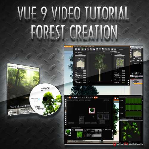 AsileFX - Getting Started with Vue 9  Forest Creation