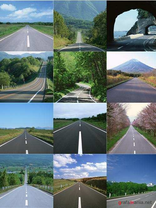 Roads - Stock Photo