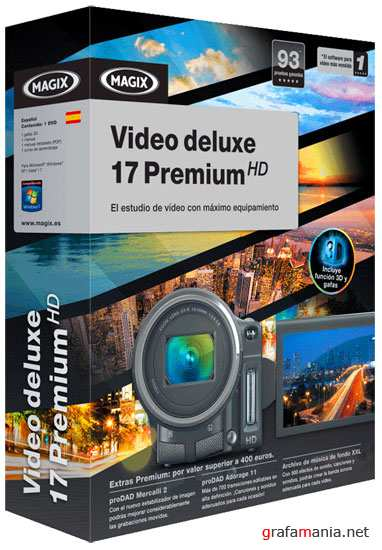 MAGIX Video deluxe 17 Premium HD ver.10.0.7.2 (RUS/2011)
