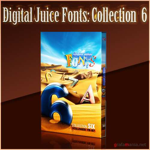 Digital Juice Fonts: Collection Six
