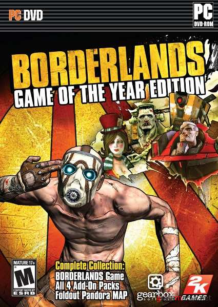 Borderlands Game of the Year Edition (2010) *RU|EN|Repack*