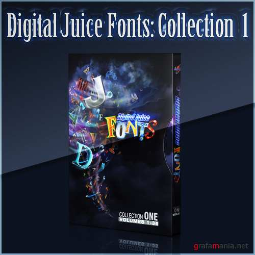 Digital Juice Fonts: Collection One