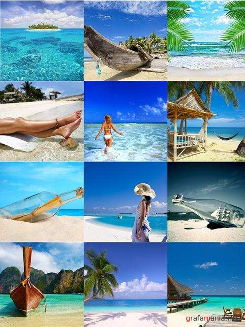 Tropical Paradise - Stock Photos
