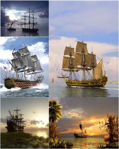 Best 3D ships wallpapers pack 1