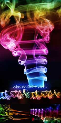 Abstract smoke clipart 2