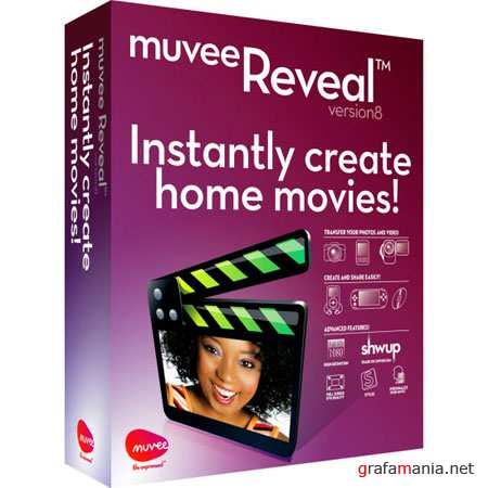 muvee Reveal version 8.0.1.17654 Build 2421 (2011/RUS)