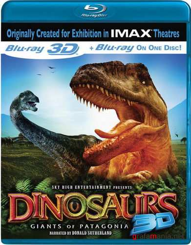 Динозавры / IMAX - Dinosaurs: Giants of Patagonia (2007) Blu-ray 3D Disc
