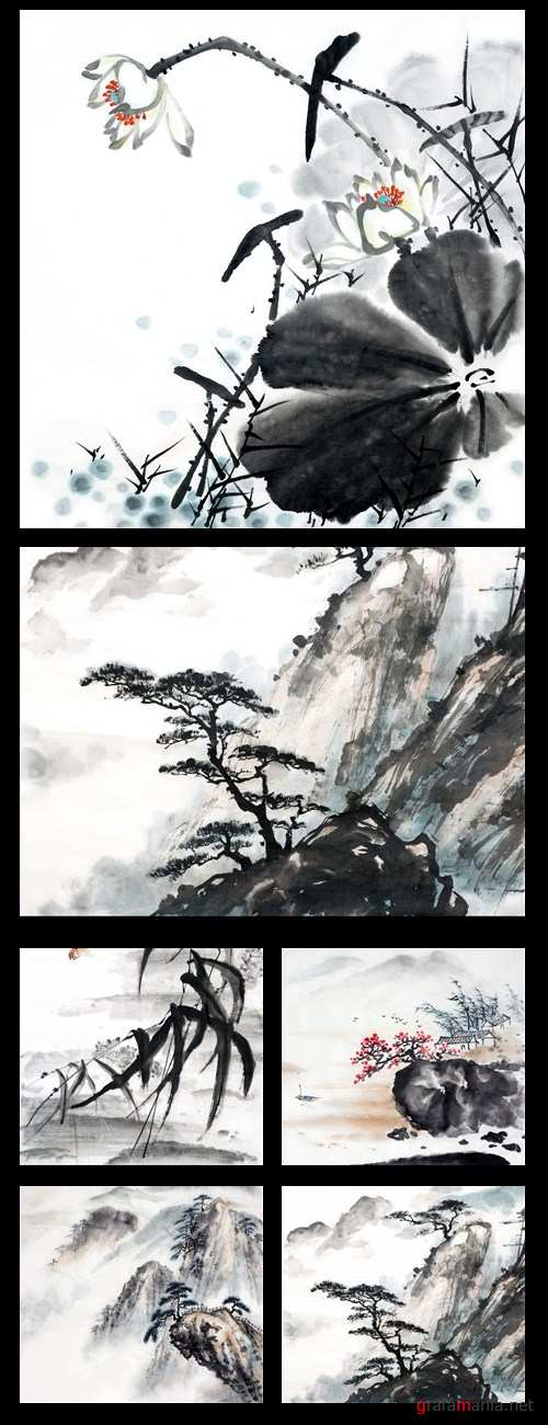 Chinese backgrounds 2