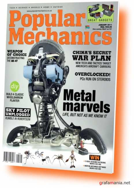 Popular Mechanics South Africa - January 2011