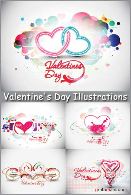 Valentine's Day Illustrations - Stock Vectors