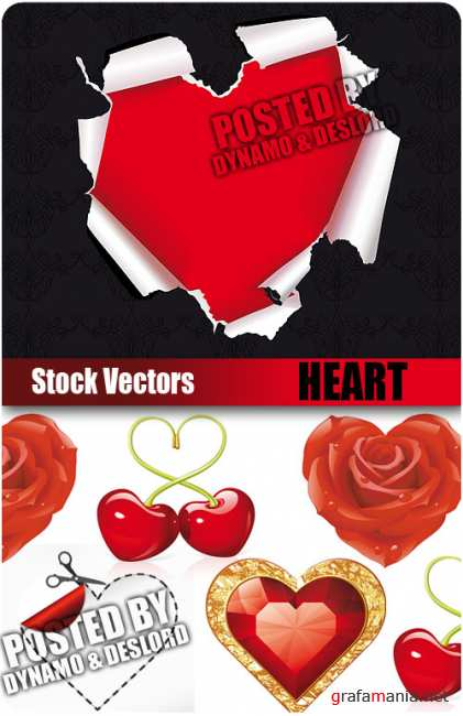 Stock Vectors - Heart