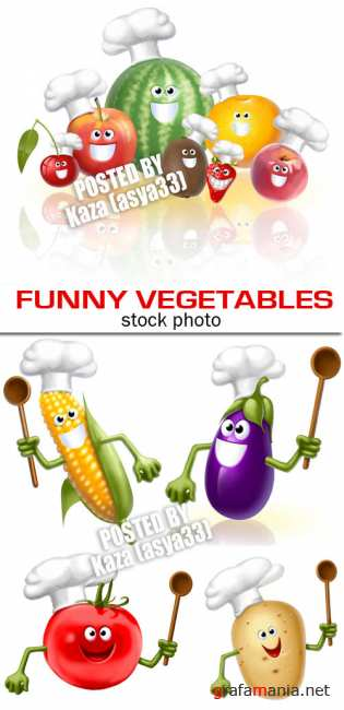 Funny vegetables 2