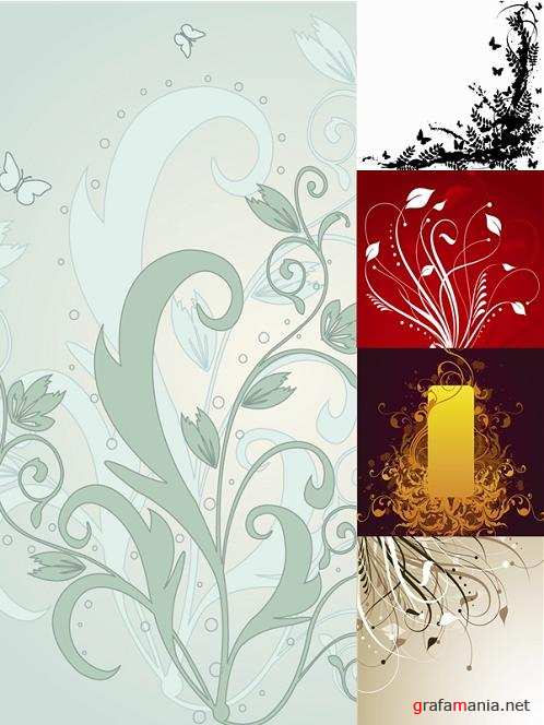 Patterned Vector Backgrounds