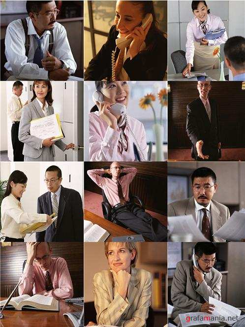 Business and Office Scenes