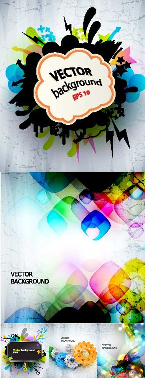 Colorful positive backgrounds
