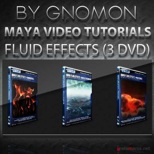 Gnomon - Maya Fluid Effects (3 DVD)
