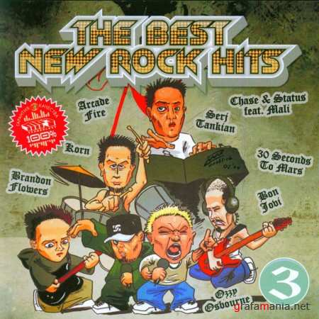 The Best New Rock Hits 3 (2011)