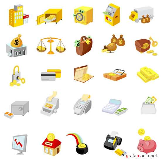 Finance - Vector Icons