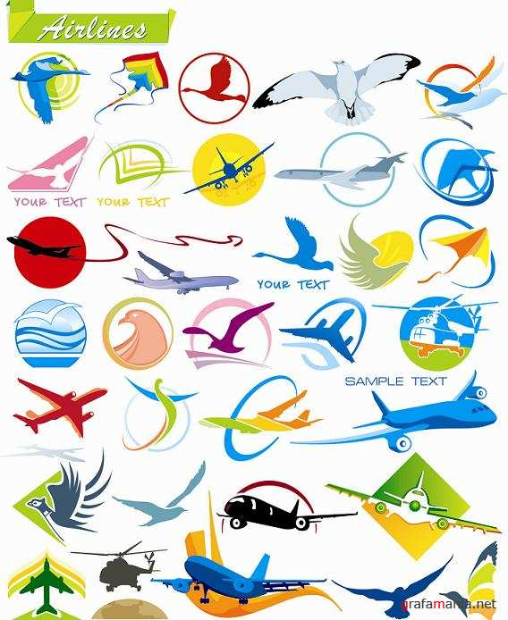 Airlines - Vector Collection