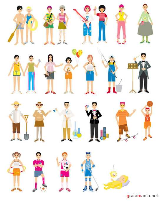 People Vector Set