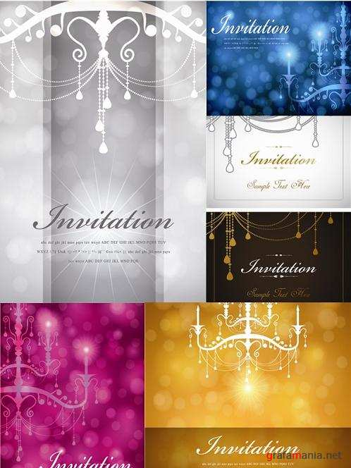 Beautiful Backgrounds for Invitation